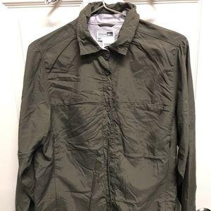 REI Vented Hiking Long Sleeved Large Shirt - EUC